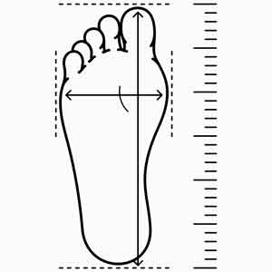 Foot Tracing On Pedors.com